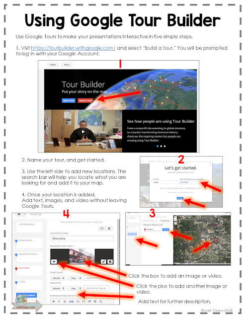 Take your students to far-off places without ever leaving your classroom with Google Tour Builder. It's a free, user-friendly app that brings presentations to life with Google Maps. Click through to grab the free cheat sheet and get started!