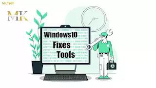 أداة مجانية لحل معظم  مشاكل ويندوز 10 الشائعة (Windows10 Repair Tools )