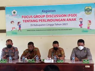 Kadinsos PPPA Lingga, Ingin Desa Berperan Aktif Tangani Kaus Anak