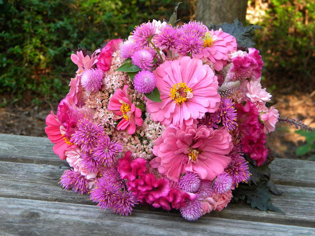 Wedding Flowers From Springwell: Summer Bouquet- Pretty In