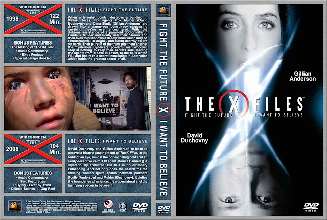 The X Files/The X Files: I Want to Believe DVD Cover