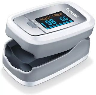 Beurer PO30 Pulse Oximeter, Blood Oxygen Saturation and Heart Rate Monitor | Best Oximeter in India for Home Use | Best Pulse Oximeter Reviews