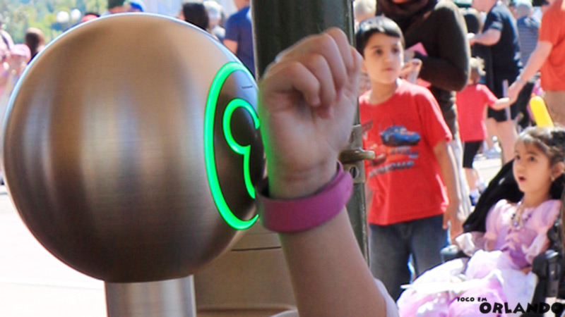 Magic Band é uma das facilidades dos parques Disney