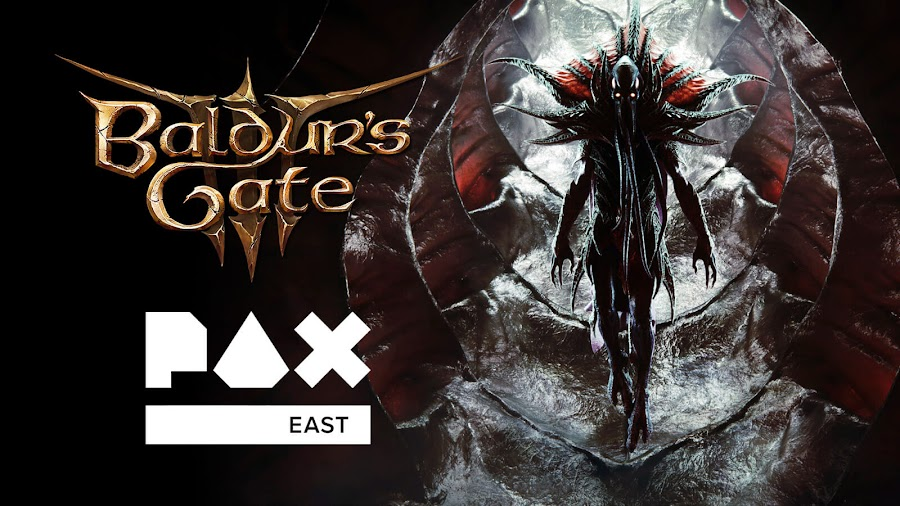 baldur's gate 3 pax east 2020 gameplay reveal dungeons and dragons the black hound pc google stadia larian studios