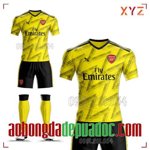 Áo Arsenal 2020 Training 2 Màu Vàng Đẹp Và Độc