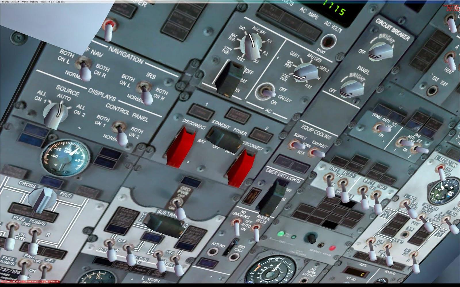 Cbt boeing 737 800