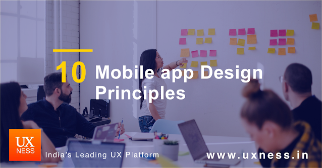 Mobile app design guidelines