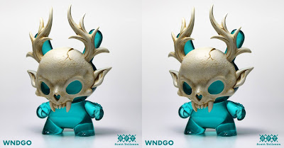 "Designer Con 2019 Exclusive Wendigo Dunny Winter Edition 5"" Resin Figure by Scott Tolleson"