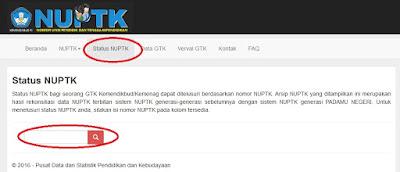 Cara Cek Status NUPTK Bagi GTK Kemendikbud Cara Cek Status NUPTK Bagi GTK Kemendikbud