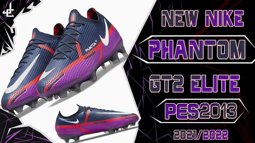 New Boots Nike Phantom GT2 Elite 2021-2022 For PES 2013