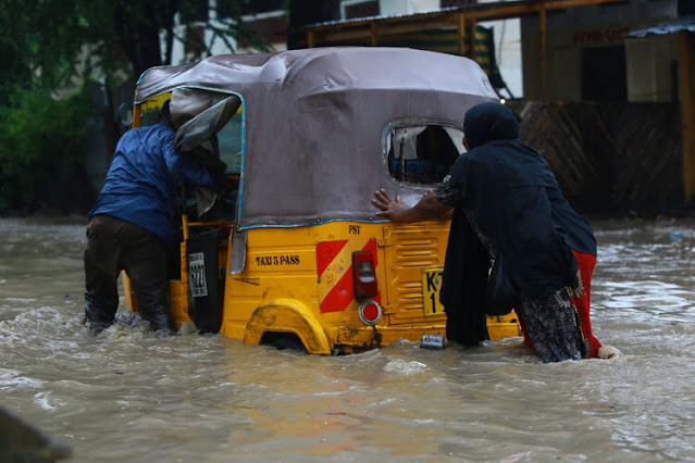 Mombasa flood photos and rain recent news