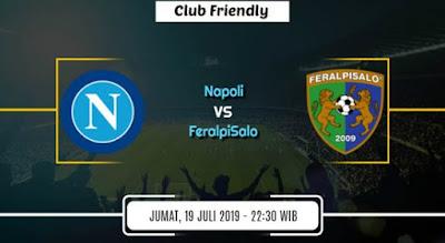 مشاهدة مباراة نابولى وفيرالبيزالو بث مباشر اليوم 19-7-2019 وديا