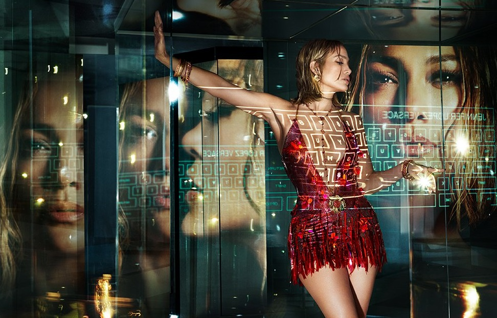 Jennifer Lopez by Mert and Marcus for the Versace Spring/ Summer 2020 Ad Campaign.