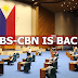 BREAKING: ABS-CBN IS BACK! Congress approves the network's provisional franchise