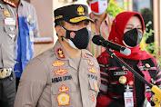 Kapolda Jateng Imbau Warga Klaten Terpapar Covid-19 Jalani Isolasi Terpusat