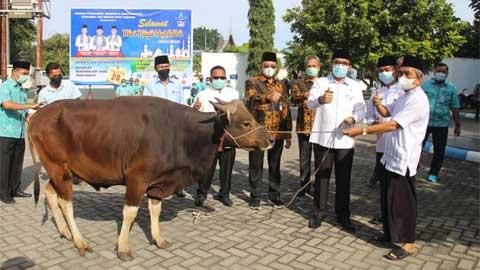 Semangat Berqurban Karyawan Perumda Air Minum Padang