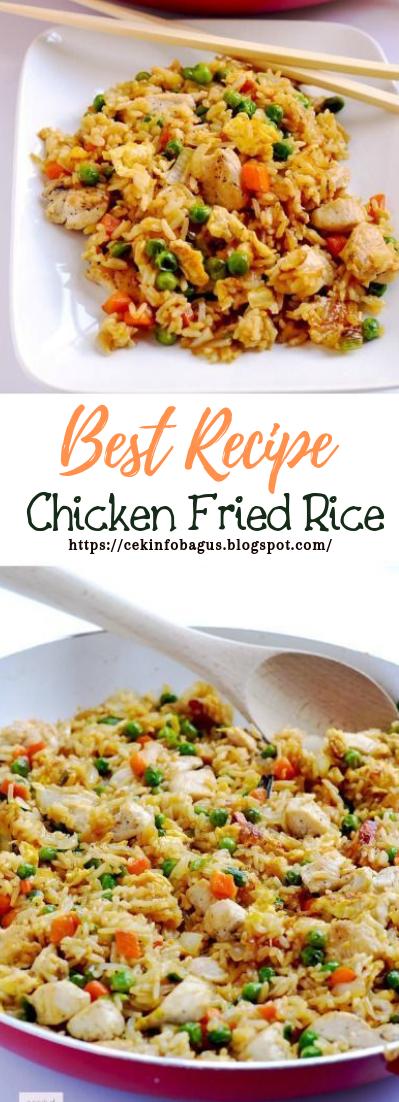 Chicken Fried Rice #dinnerrecipe #food #amazingrecipe
