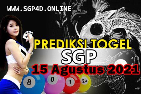 Prediksi Togel SGP 15 Agustus 2021