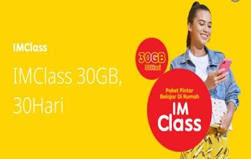 Tips Mendaftar Paket Imclass Edukasi Indosat Terbaru 2021