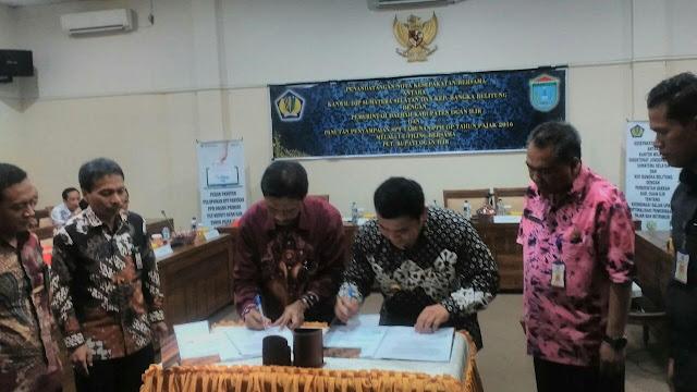Jalin Kerjasama DJP Gandeng Ogan Ilir, Optimalisasikan Penerimaan Pajak Dan Retribusi