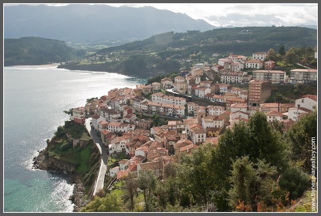 Mirador San Roque: Lastres (Llastres) Asturias