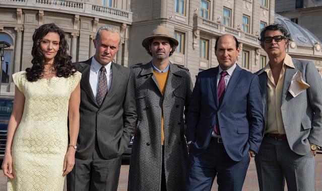 Maria Fernanda Cândido, Albano Jerónimo, Armando Bó, Andrés Parra e Eduardo Moscovis