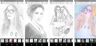 cara membuat foto jadi sketsa pensil