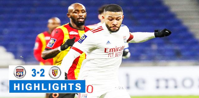 Olympique Lyonnais vs Lens – Highlights