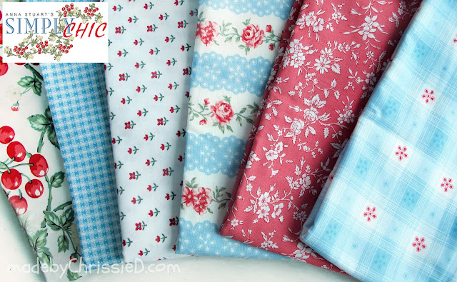 Anna Stuart's Simply Chic Fabric Collection for Benartex