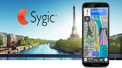 Aplikasi Android GPS Navigation & Maps Sygic