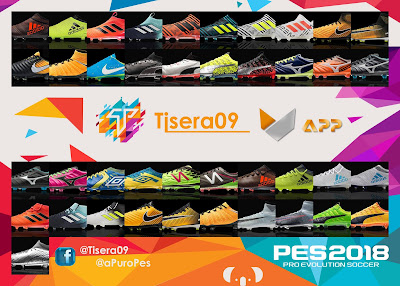 PES 2018 Bootpack by Tisera09