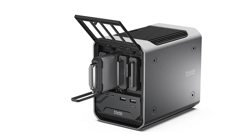 SanDisk Pro-Dock 4 now official—features modular design for different storage type