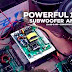 12V POWERFUL SUBWOOFER AMPLIFIER CLASS-D + CONVERTER + PREAMP