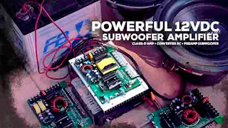 12V Subwoofer amplifier
