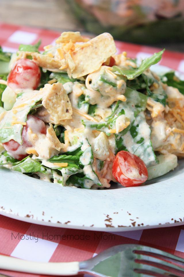 Seven layer taco salad recipe