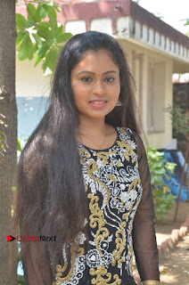 Tamil Actress Shreya Sri Stills in Black Akarkali Dress at Vanga Vanga Team Interview  0014.jpg