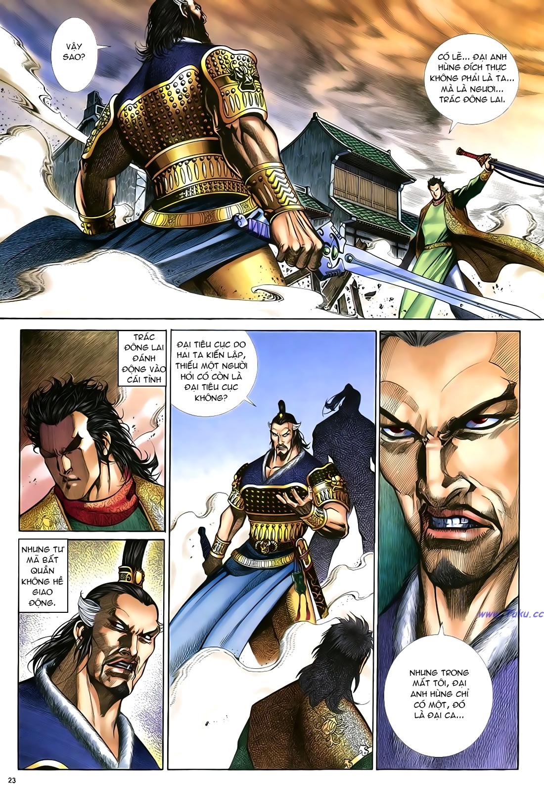 Anh hùng vô lệ Chap 23 trang 24