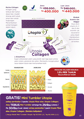 Brosur Promo Utopia Collagen
