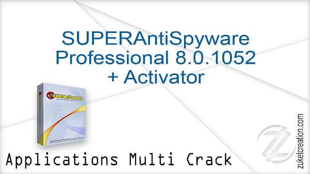 SUPERAntiSpyware Professional 8.0.1044 + Keygen