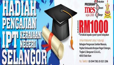 Permohonan Bantuan Anak Selangor 2018 Online