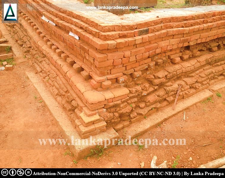 Old brick structures, Rajagala