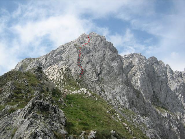 Rutas Montaña Asturias: Vista desde la Forqueta del Portillín