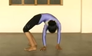 Young yoga exponent from TN wanting to create Guinness record