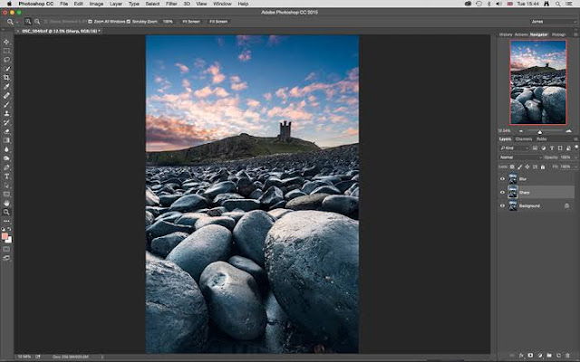 Make a Sharp edge Sprinter Roused Picture in Photoshop!