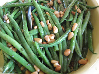 beans and vegetables