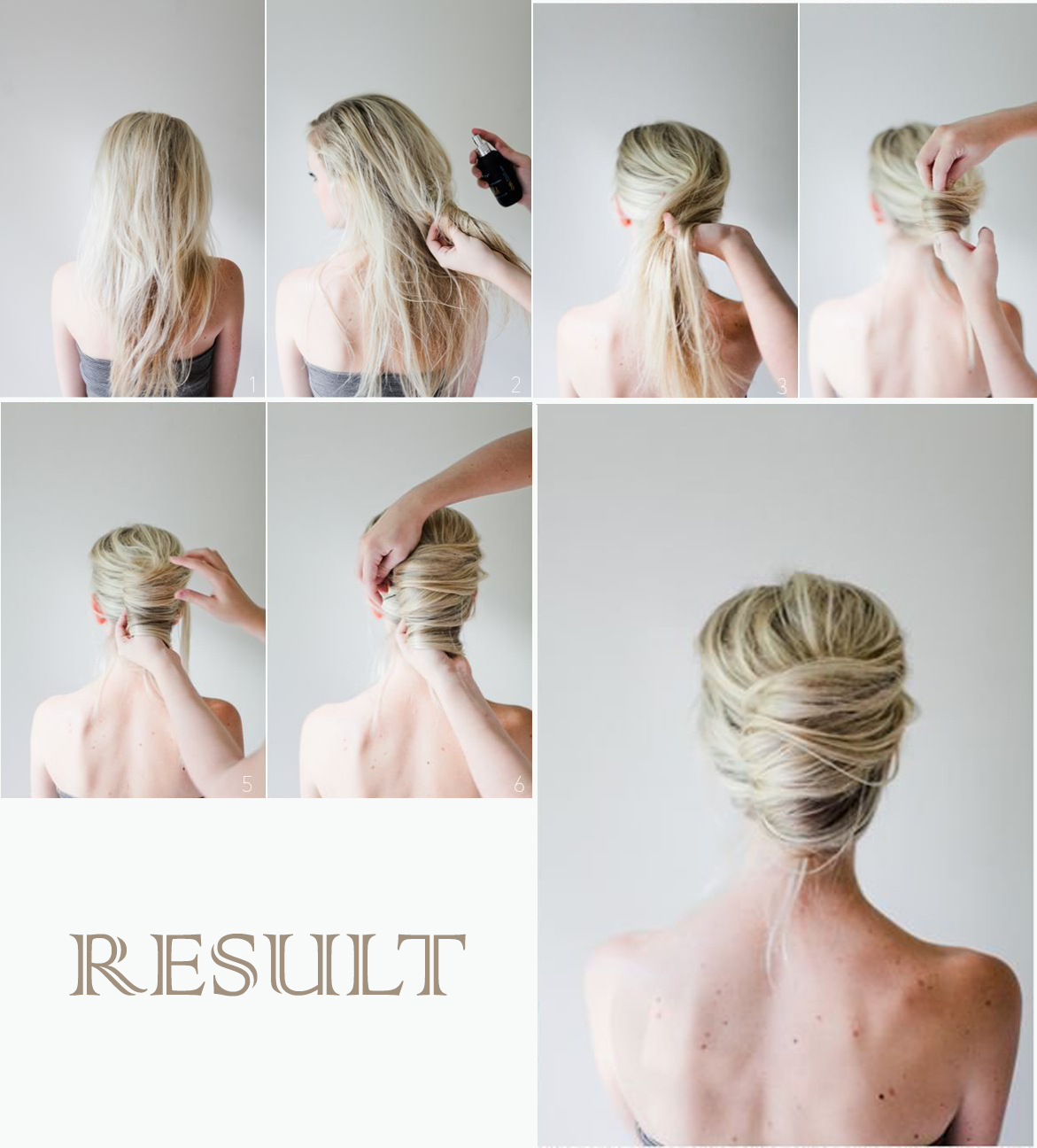 Three Step by Step hairstyle tutorial