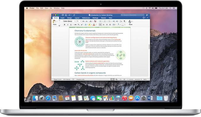 Microsoft Office FOR MAC 1