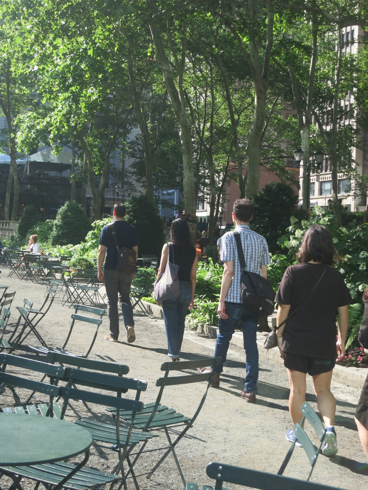Bryant Park Blog Three Tips For Walking Meditation In The