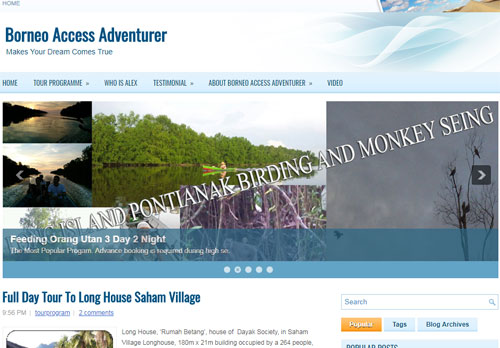 Official website of Borneo Access Adventurer - Borneo. INDONESIA