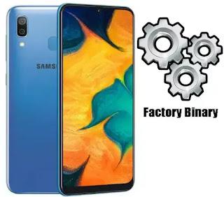Samsung Galaxy A30 SM-A305GT Combination Firmware